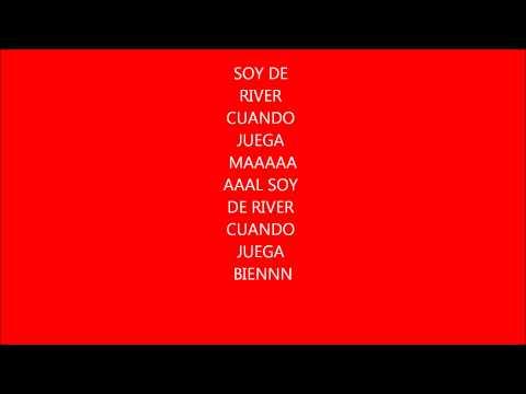 Soy de River Plate Joaquin Levinton (con letra)