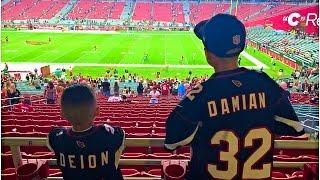 FIRST NFL GAME!! 10/2/16 (Cardinals vs. Rams)