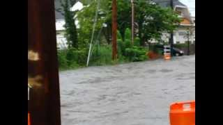 Flooding on New York Ave | Huntington, NY | Aug 10 2012