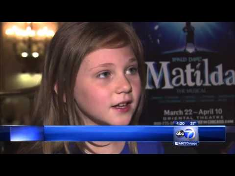 Broadway's 'Matilda the Musical' Opens At Oriental Theatre - ABC 7