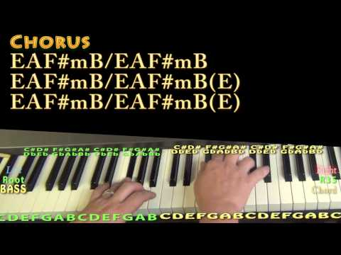 Beautiful Life (American Idol) Piano Lesson Chord Chart