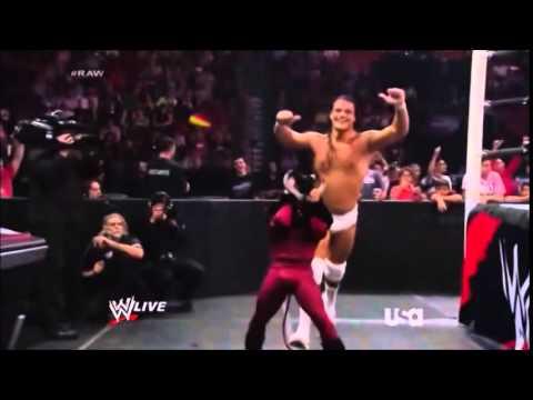 Bo Dallas Victory Lap RAW 07/07/14