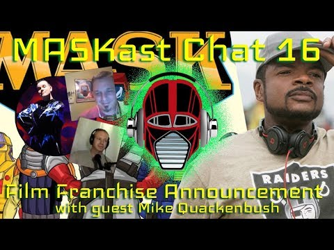 MASKast Chat 16: Film Franchise Announcement
