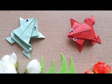 How To Make Paper Frog