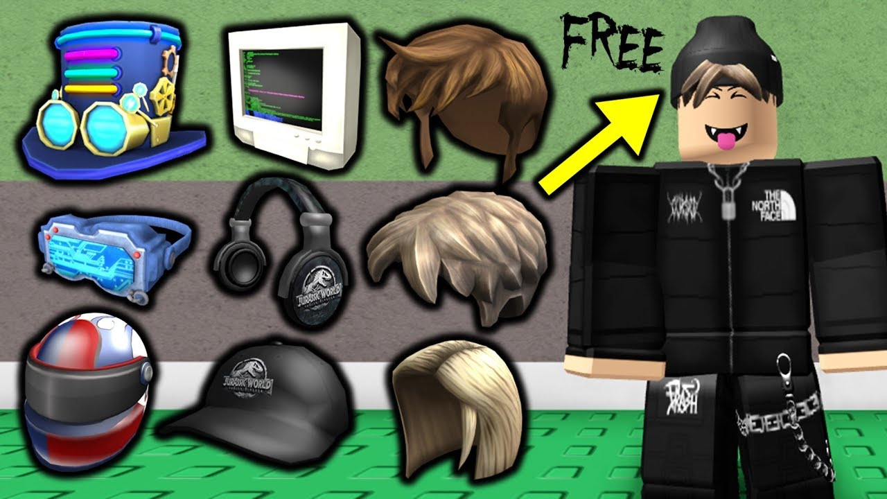 The BEST Roblox Avatar Tricks Using FREE Accessories YouTube