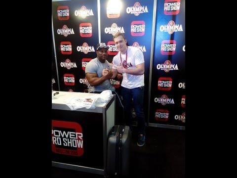 Power Pro Show Декстр Джексон о своем пути в бодибилдинге и ответы на вопросы
