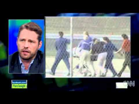 Jason Priestley with CNN's Pierce Morgan (Summer 2011 clip)