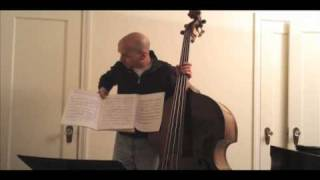 Waltz for Debby- Playing along with Scott LaFaro's Solo (on his bass)