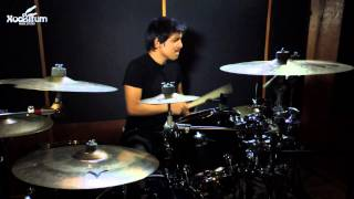 R.URIBE.C - New Ground -drum Cover with drum solo- (Tommy Igoe)