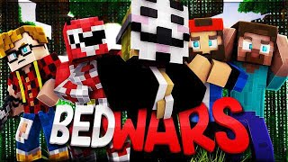 ANIMA, ST3PNY, KLAUS E ZANZO VS HACKER! Minecraft Bedwars