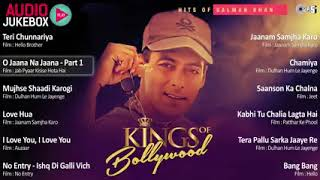 Superhit Salman Khan Songs   King of Bollywood   Audio Jukebox   YouTube 240p