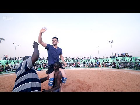 Losing an international wrestling match in Sudan