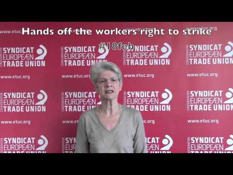 Hands off the workers right to strike #18Feb