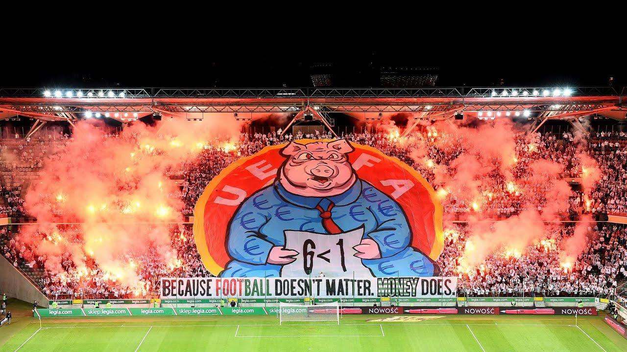 Legia Warschau Choreo