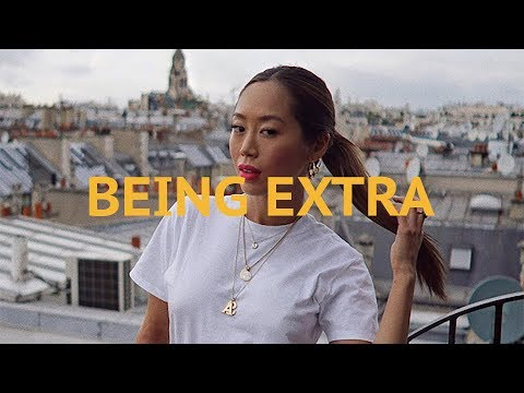 Being Extra During Paris Fashion Week  Aimee Song