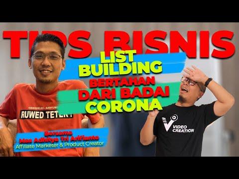 🔴 LIST BUILDING – CARA BISNIS ONLINE BERTAHAN DI SAAT BADAI CORONA