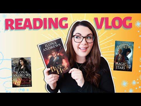 Reading Vlog| Blood Heir ✨ Returning to the Kate Daniels World