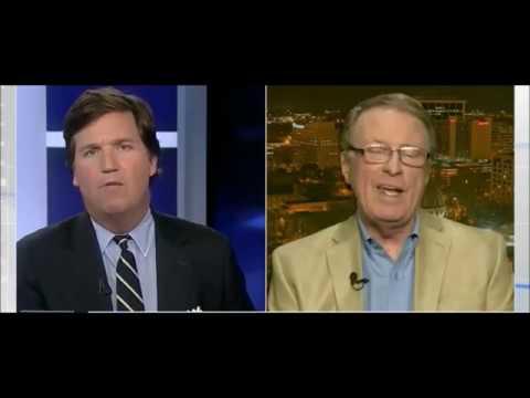 Tucker Carlson destroys a blabering Huffington Post college professor