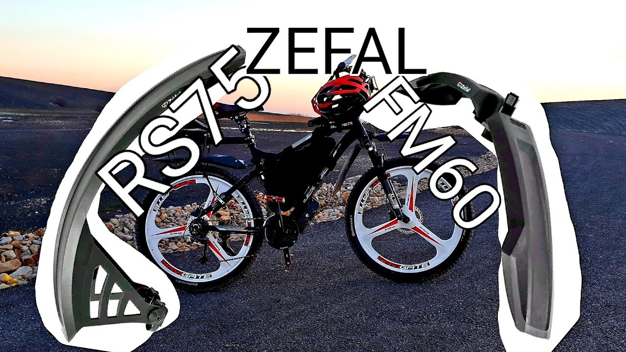 Zefal No-Mud Universal Front or Rear Mudguard for 26-inch Wheels