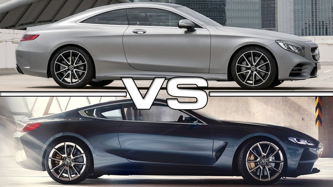 2018 mercedes s class coupe vs 2018 bmw 8 series concept youtube. Black Bedroom Furniture Sets. Home Design Ideas