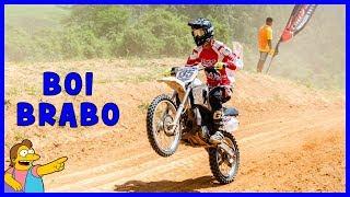 DT 200 DANDO TRABALHO NAS 4 TEMPOS   CIRCUITO PAULISTA DE VELOCROSS CAT VX200 !