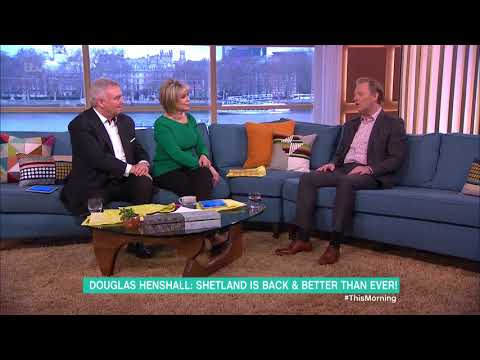 Douglas Henshall on Being on Stage in Network| This Morning