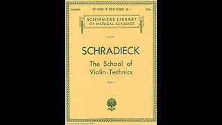 バイオリン・早い音符・指の練習・指が回らない・もつれる・シュラディーク thumbnail