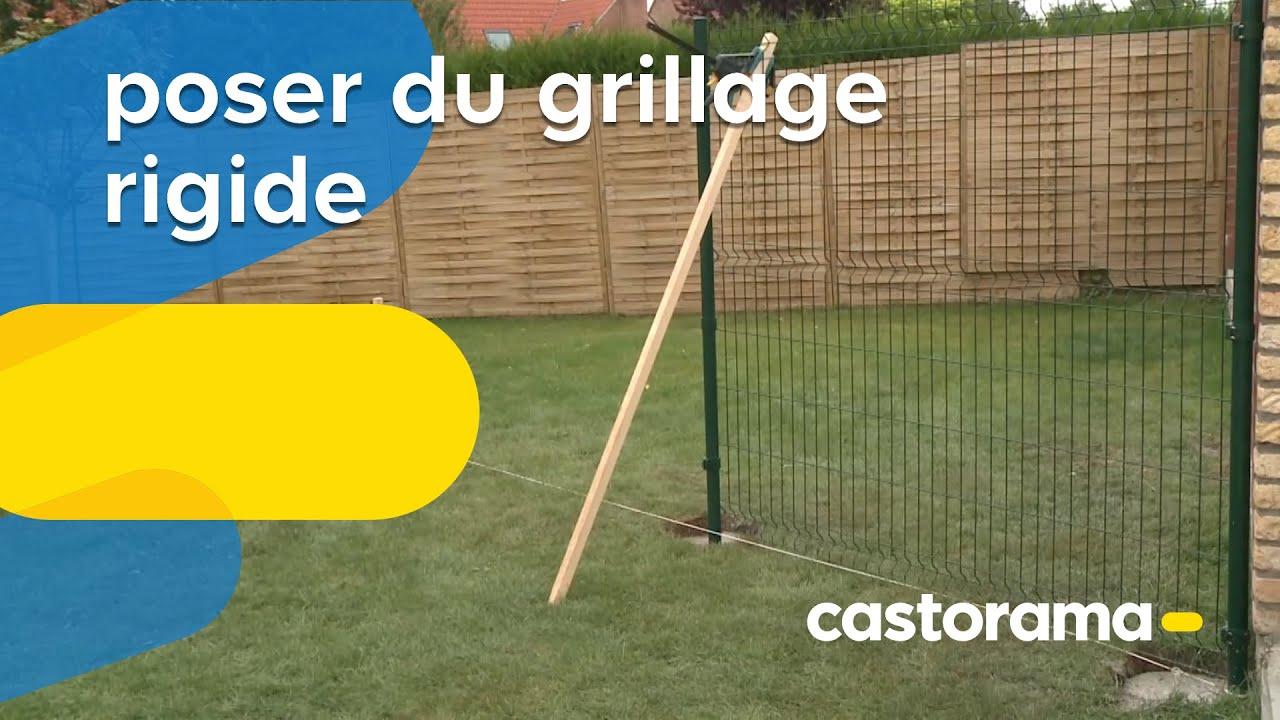 Poser Du Grillage Rigide Castorama Youtube