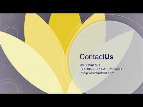 WebChartMD Overview Video