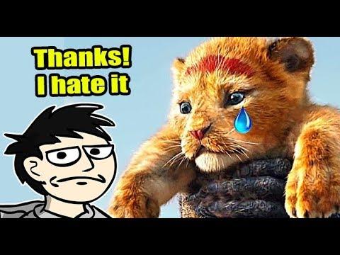 Steve Reviews The Lion King 2019