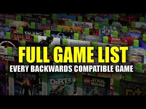 Xbox One Backwards Compatible Game List - Every Playable Xbox 360 Game