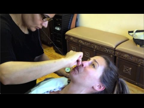 I Try Threading -- Is it better than waxing? Find out my thoughts!