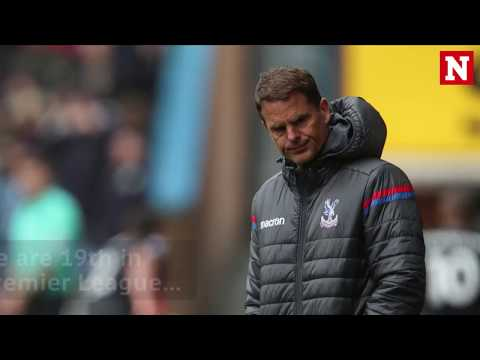 Crystal Palace manager Frank de Boer sacked after 5 games