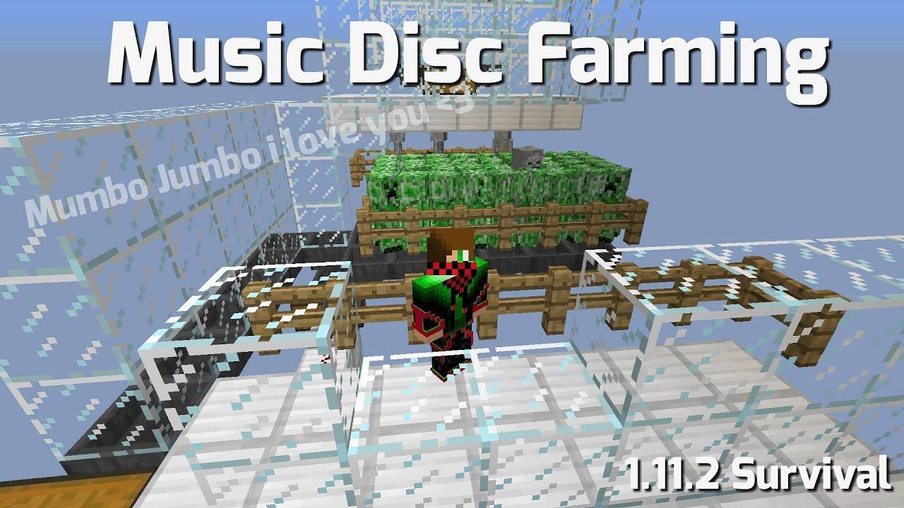 Minecraft 112 Music Disc Farm Survival Mumbo Jumbos