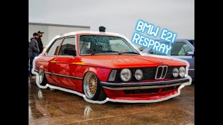 Bmw e21 repaint