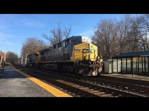Railfanning at Gaithersburg, MD