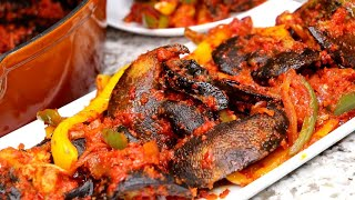 African food recipes | How To Make Peppered Snails.