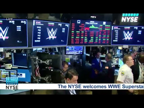 World Wrestling Entertainment (NYSE: WWE) Ring The NYSE Closing Bell