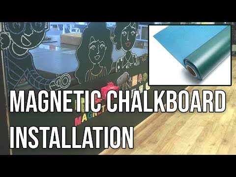 how-to-install-self-adhesive-magnetic-wall-decor-tutorial