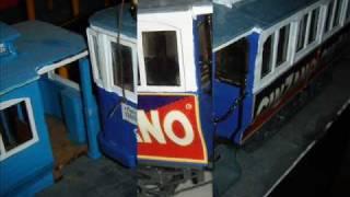 Como construi el tranvía blau nº 9