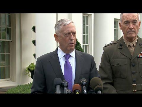 Download Youtube: Mattis: NKorea Threats Met by 'Massive' Response