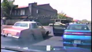 Woman Goes Berserk Traffic Stop