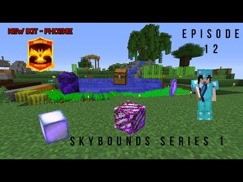 OPENABLES AND PHOENIX IMMORTAL KIT Minecraft Skybounds - Robots Island - Episode 12
