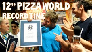 World's Fastest Time To Eat A 12