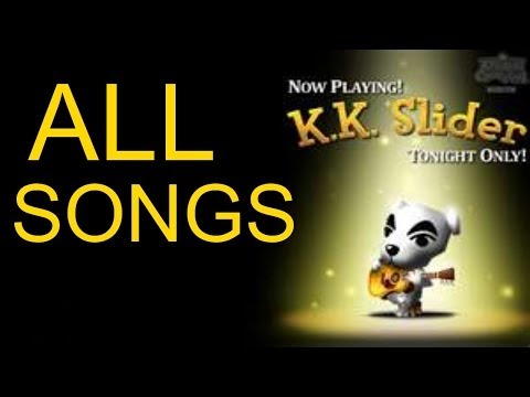 All Animal Crossing KK Slider Songs! GameCube