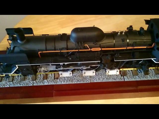 Finished deagostini C57 Japanese loco kit