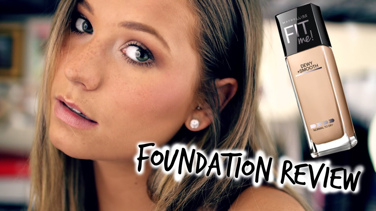 Maybelline Fit Me Foundation Review (Dewy & Smooth|Matte ...