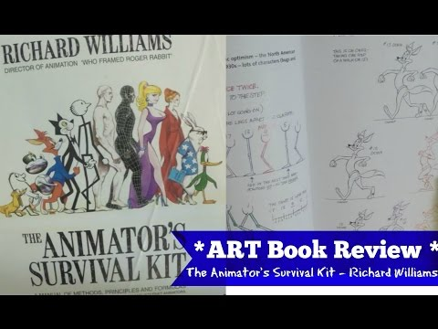 The ANIMATOR'S Survival Kit BOOK REVIEW - Richard Williams