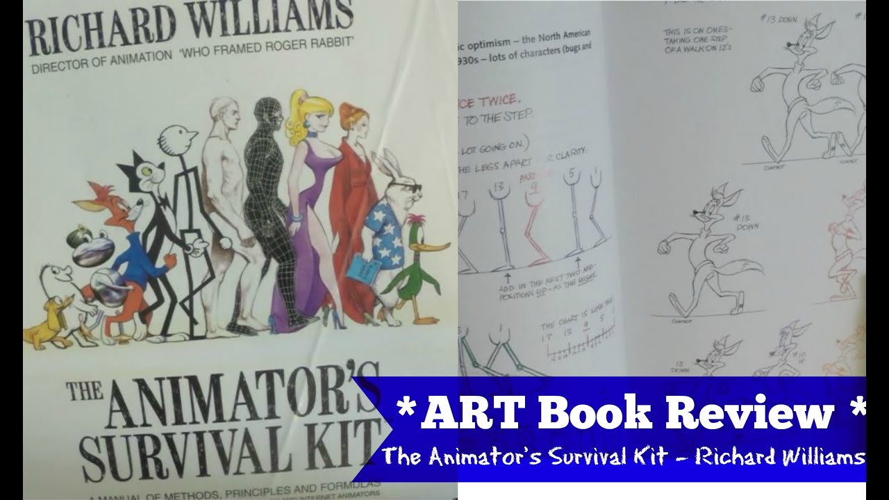 The ANIMATOR\'S Survival Kit BOOK REVIEW - Richard Williams - YouTube