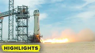 Blue Origin NS-15 launches! (Rocket and Capsule Touchdown)
